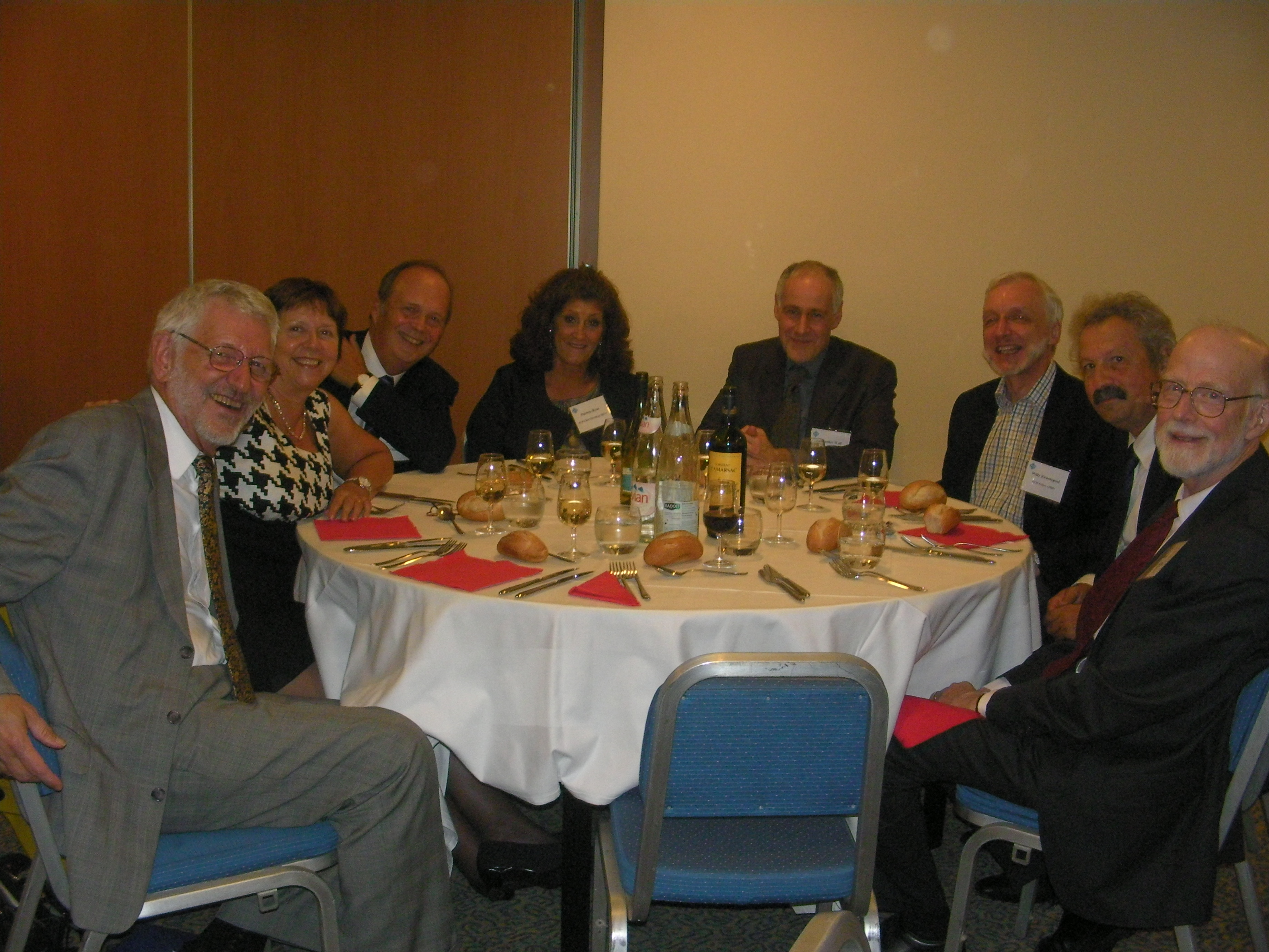 ACM leadership and guests at ECSS 2009 in Paris