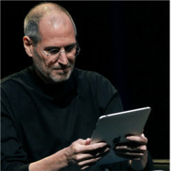 Steve Jobs and Apple iPad