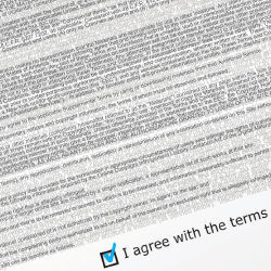 Terms of Agreement contract