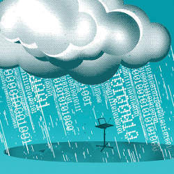 cloud raining data