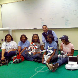 Spelman College women computer science students