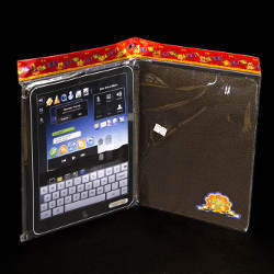 paper iPad with paper travel case