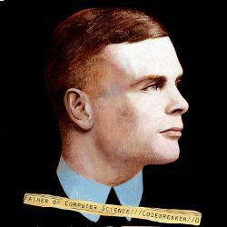 Alan Mathison Turing, illustration