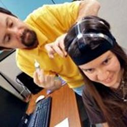 Measuring brain waves