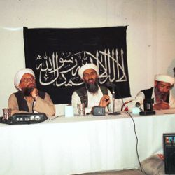 1998 al-Qaida press conference, with Osama bin Laden