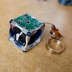 A prototype M-Block robot.