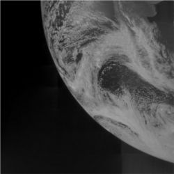 Earth from Juno flyby