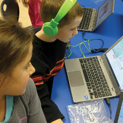 second-grade participants in 2013 Hour of Code