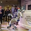 Here Come the Robots: Davos Bosses Brace for Big Technology Shocks