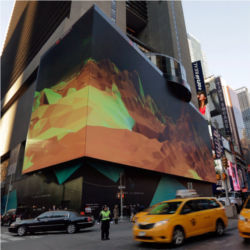Electronic billboard, Times Square