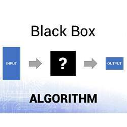 A black box is a device, system, or object that can be viewed in terms of its inputs and outputs, without any knowledge of its internal workings.