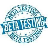 The last step for an application is beta testing by potential users.