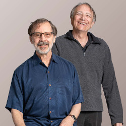 2019 ACM A.M. Turing Award recipients Ed Catmull and Pat Hanrahan