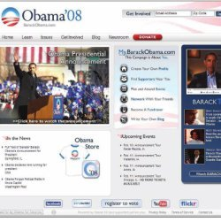 Barack Obama's Web site