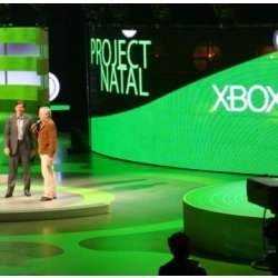 Director Steven Spielberg at Microsoft's Project Natal announcement