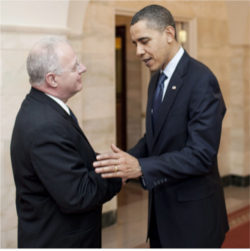 President Obama with Howard A. Schmidt