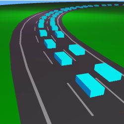 intelligent vehicle traffic model