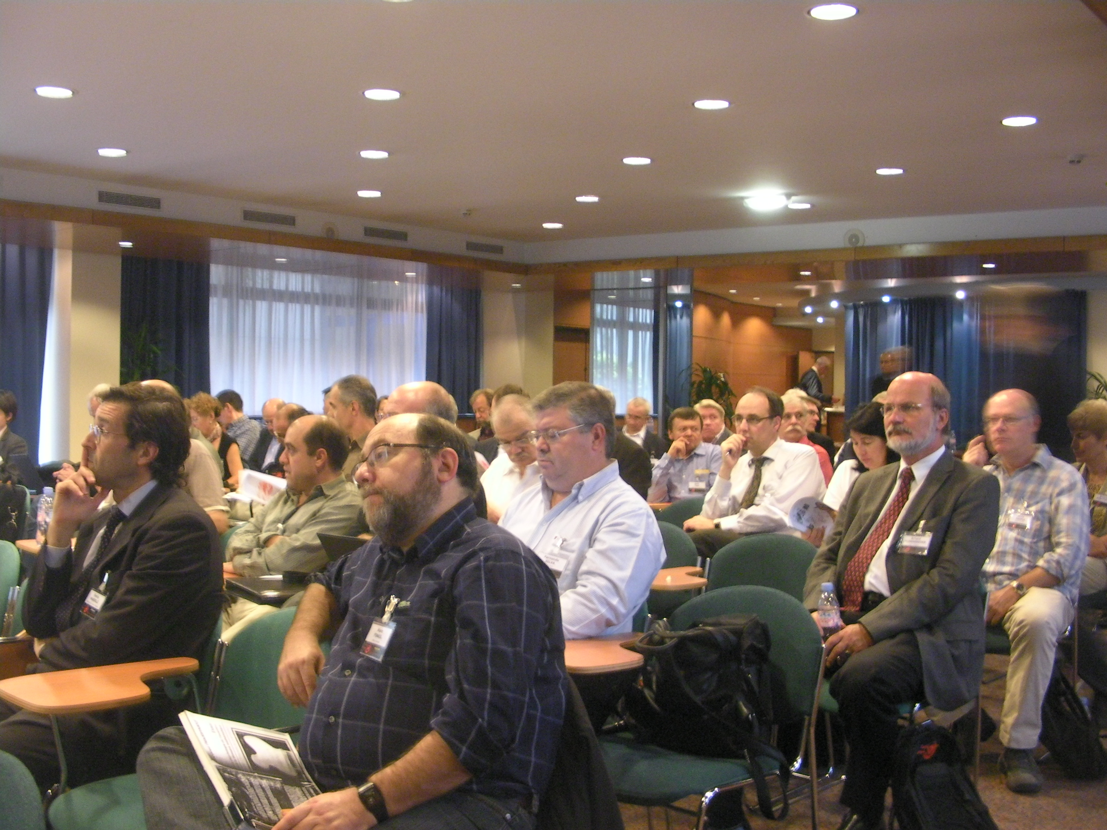 A session at the European Computer Science Summit 2009