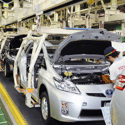 Toyota Prius production facility