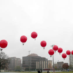 DARPA Network Challenge red weather balloons