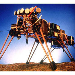 Rodney Brooks' Genghis walking robot