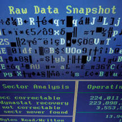 raw data snapshot
