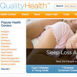 Quality Health Web site