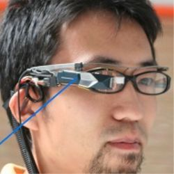 AR with eye-tracking