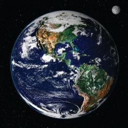 sample jpg image of the earth from outer space