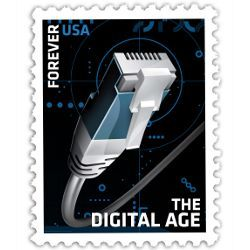 'The Digital Age' U.S. stamp