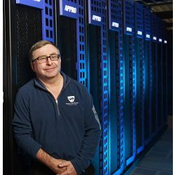 San Diego Supercomputer Center Director Michael Gordon