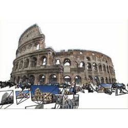 3-D construction of Roman Coliseum