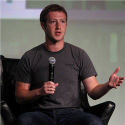 Mark Zuckerberg, Facebook CEO