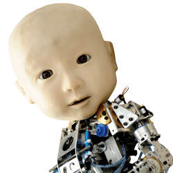 Affetto, the robot baby