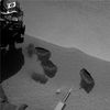 Mars Soil Sample Delivered for Analysis Inside Rover