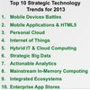Gartner: Top 10 Strategic Technology Trends For 2013