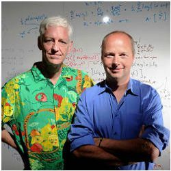 Peter Norvig and Sebastian Thrun