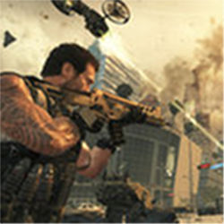 Scene from Black Ops II