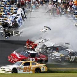 NASCAR Daytona crash
