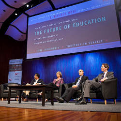 2012 MIT symposium on The Future of Education