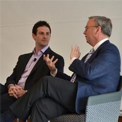 Jared Cohen and Eric Schmidt