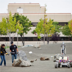 NASA K-10 rover in Roverscape
