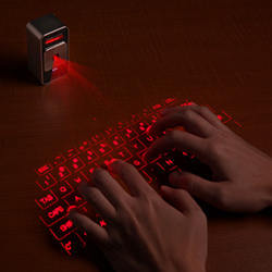 The Cellulon Cube Laser Virtual Keyboard.