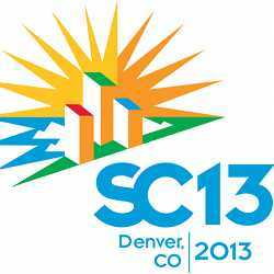 The logo of SC13.