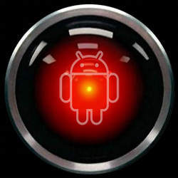 The Android logo.
