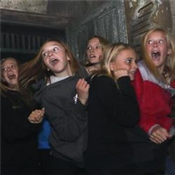 Reacting in haunted house