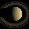 Cassini Swings Above Saturn to Compose a Portrait