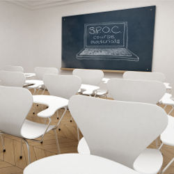 From MOOCs to SPOCs, illustration