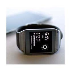 Samsung's Galaxy wearable smartwatch.