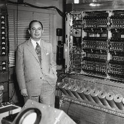 John von Neumann with the IAS computer